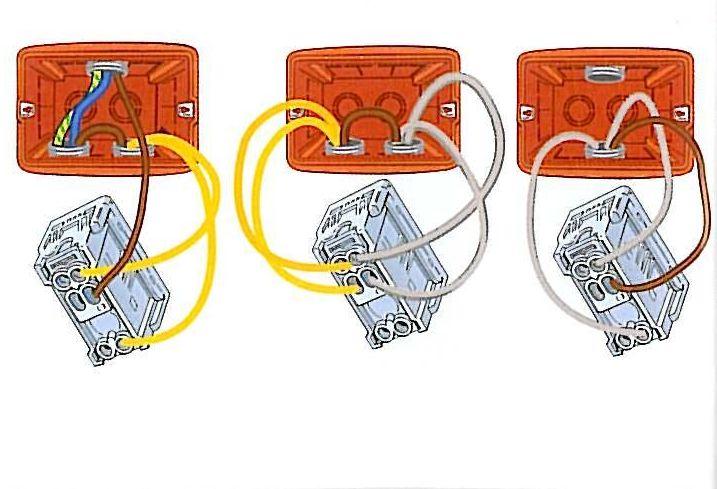 Schema Elettrico Punto Luce : Punto luce invertito elettronica semplice