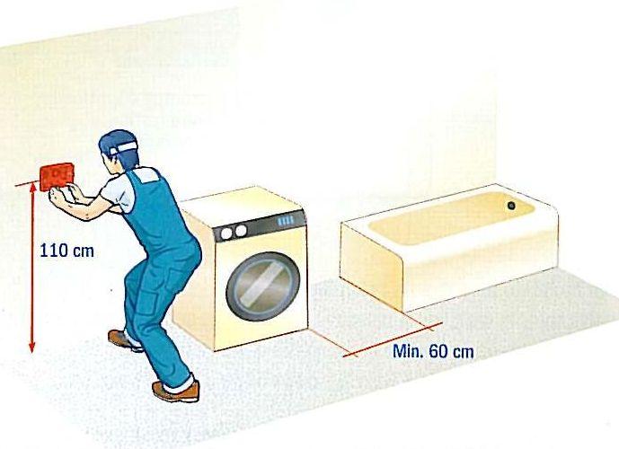 Schema Elettrico Per Lavatrice : Prese per elettrodomestici a elettronica semplice